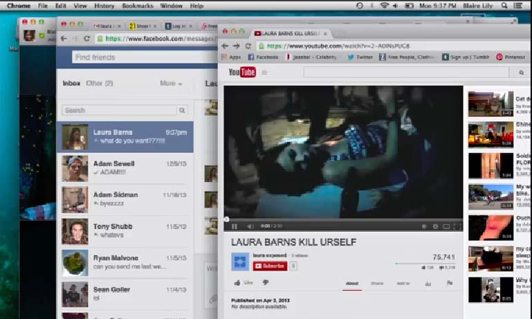 Sinopsis film horor 2015: Unfriended (2014)