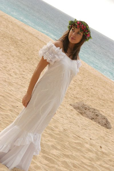 Hawaiian Beach Wedding Dresses