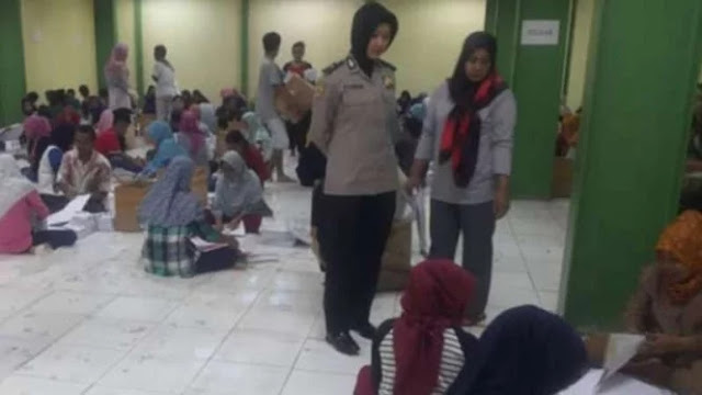Ribuan Surat Suara Pemilu Ditemukan Rusak di Tangerang