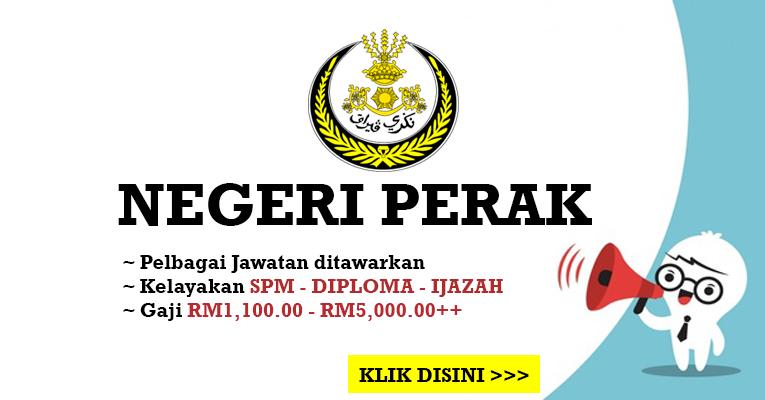 Jawatan Kosong di Negeri Perak
