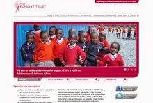 website design for egmont trust