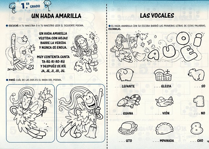 Maestra Asunción: FULL ACTIVIDADES FOTOCOPIABLES DE LECTURA Y ESCRITURA.