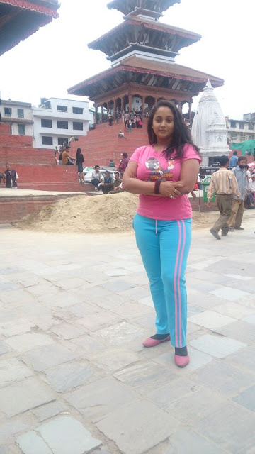 Rani Chatterjee in Pink Dress Image
