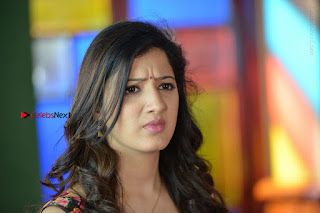 Actress Richa Panai Stills in Half Saree at Rakshaka Bhatudu Sets  0023.JPG