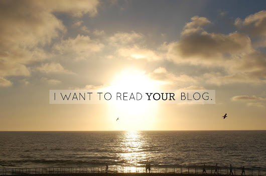 Segmen : I want to read your blog