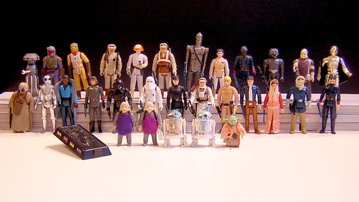 Star Wars : les figurines Kenner vintage