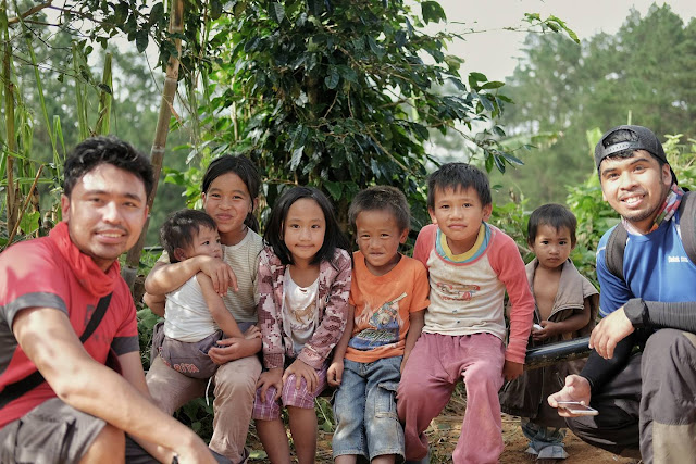 with the Kids of Bakun