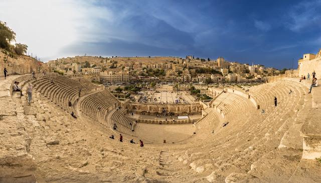 El teatro romano de Amman