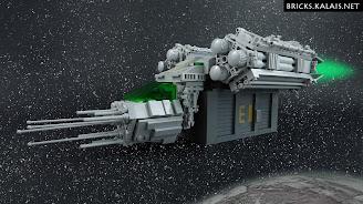 [MOC] Kosmiczny transportowiec TRN-C0N