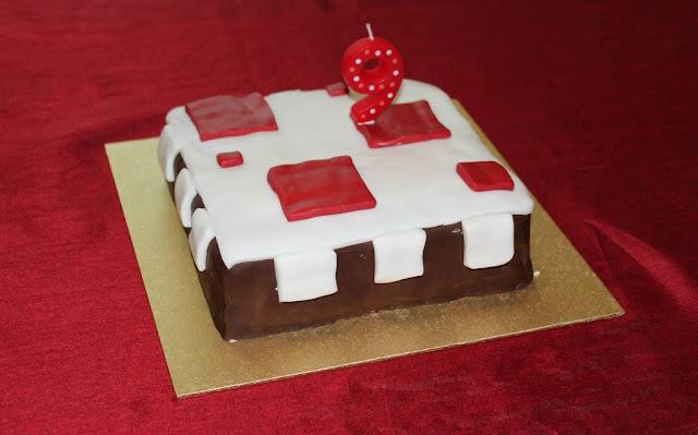 A Minecraft Birthday Cake Birthday Cake