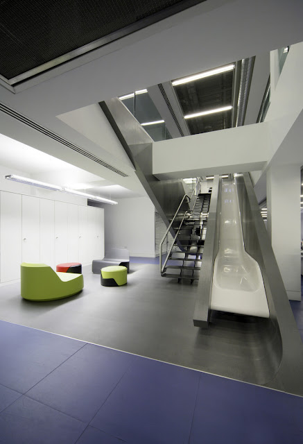 Green Pear Diaries, interiorismo, Red Bull, Londres, oficinas centrales, headquarters