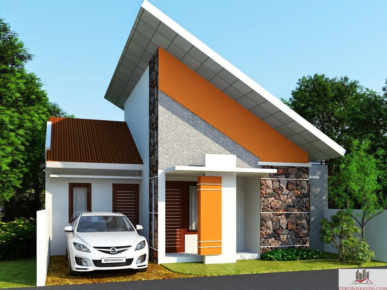 contoh desain rumah minimalis tipe 36 gaya modern