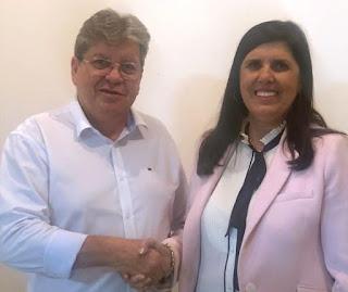 Vice-governadora recua, desiste de candidatura e disputará como vice de João