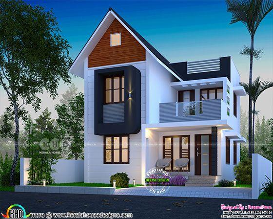 1413 square feet 4 bedroom modern house