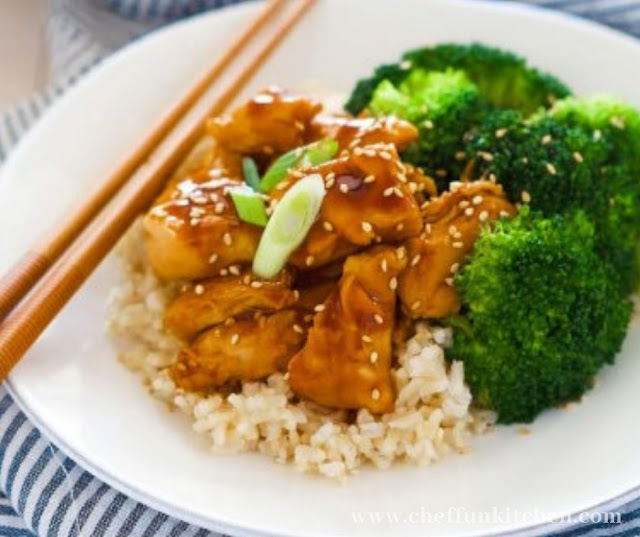 Honey Teriyaki Chicken Rice Bowls