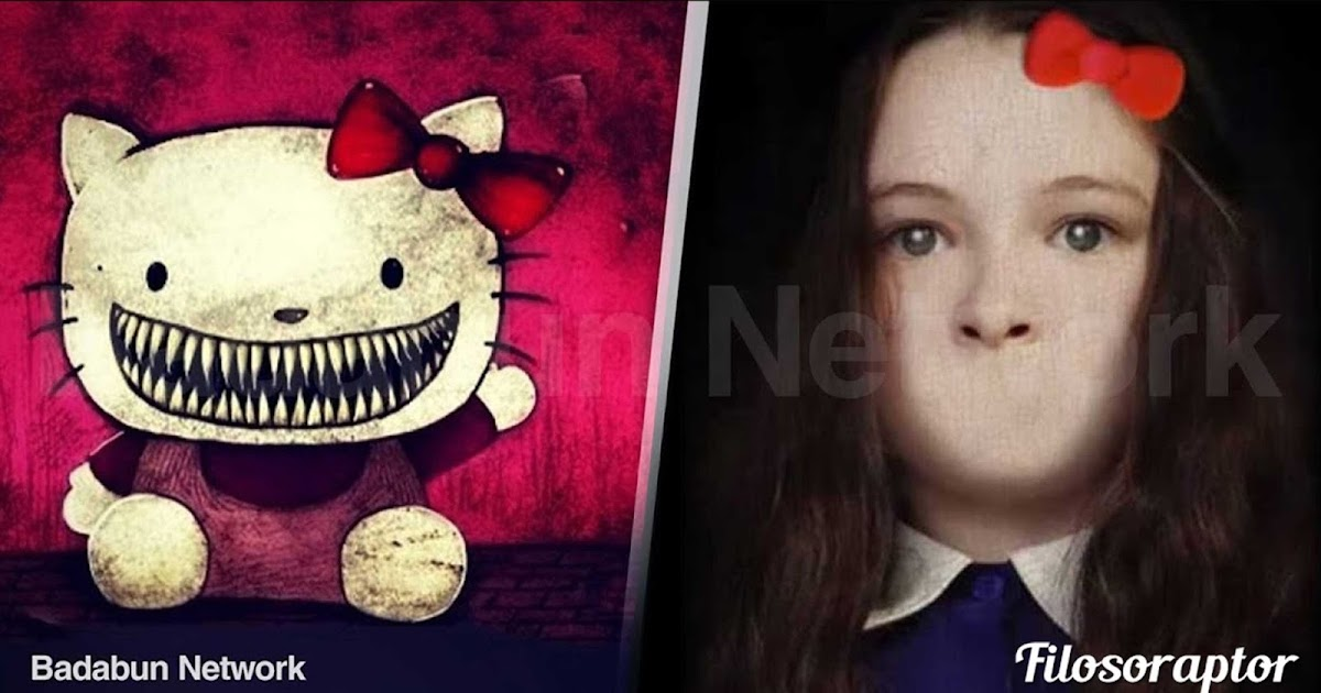 Hellokitty dibujo princesa chica caricatura satanas origen diablo