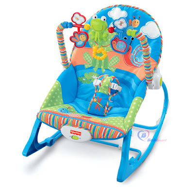 Meo sam ghe nhun fisher price tot cho be
