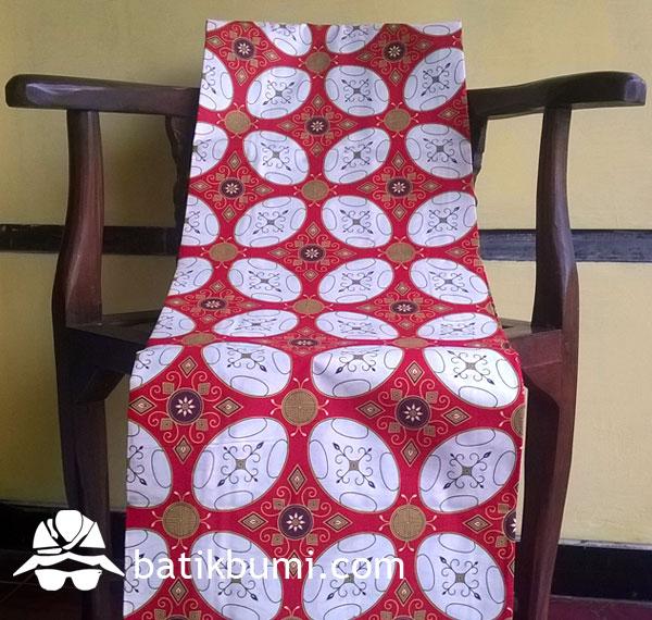 Kain Batik Printing Kawung KP 12