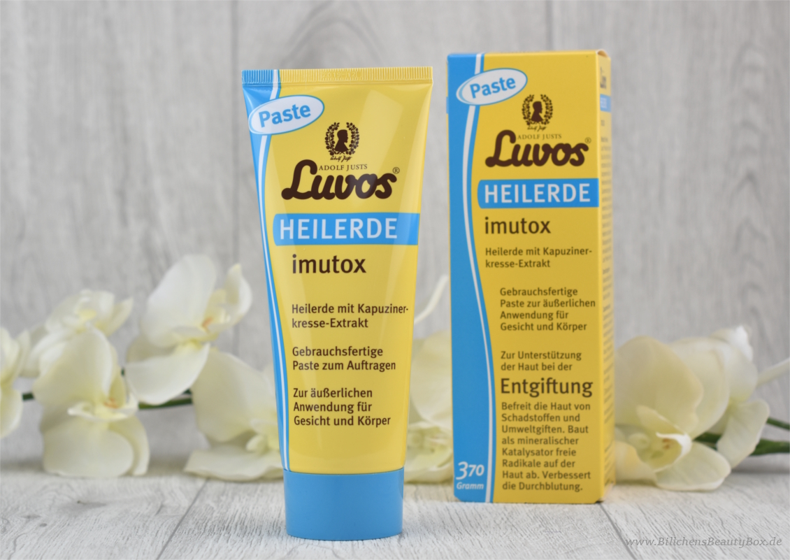 Review - Luvos Heilerde imutox Paste - Detox und Entgiftung