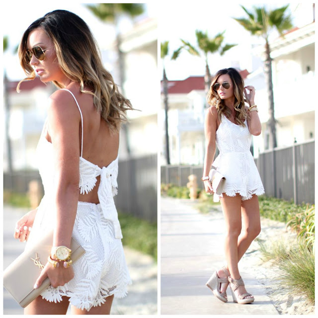 FATL Little White Romper