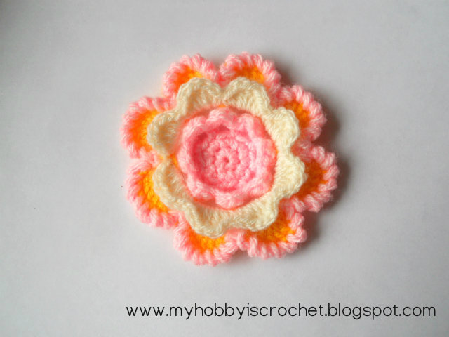 crochet irish rose free pattern