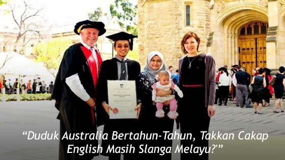 Dah Lama Tinggal di Australia Tapi Cakap English Slanga Melayu, Jawapan Lelaki Ini WIN