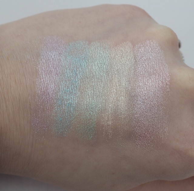 I Heart Makeup Unicorns Heart Rainbow Highlighter Review