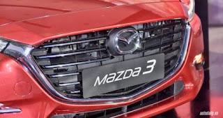 Đầu xe Mazda 3 2017 thể thao