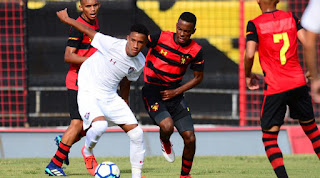 Sub 17: Sport estreia na Ilha e perde para o Fluminense