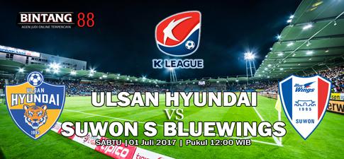 Prediksi Ulsan Hyundai vs Suwon Samsung Bluewings 01 Juli 2016