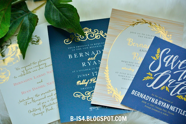 Vow Renewal Cards, Wedding Invites