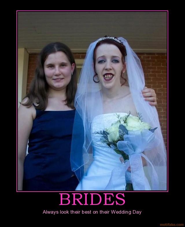 Ugly Wedding: Stupid Funny Pics: Ugly Brides
