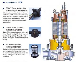 máy bơm chìm nước thải showfou Đài Loan