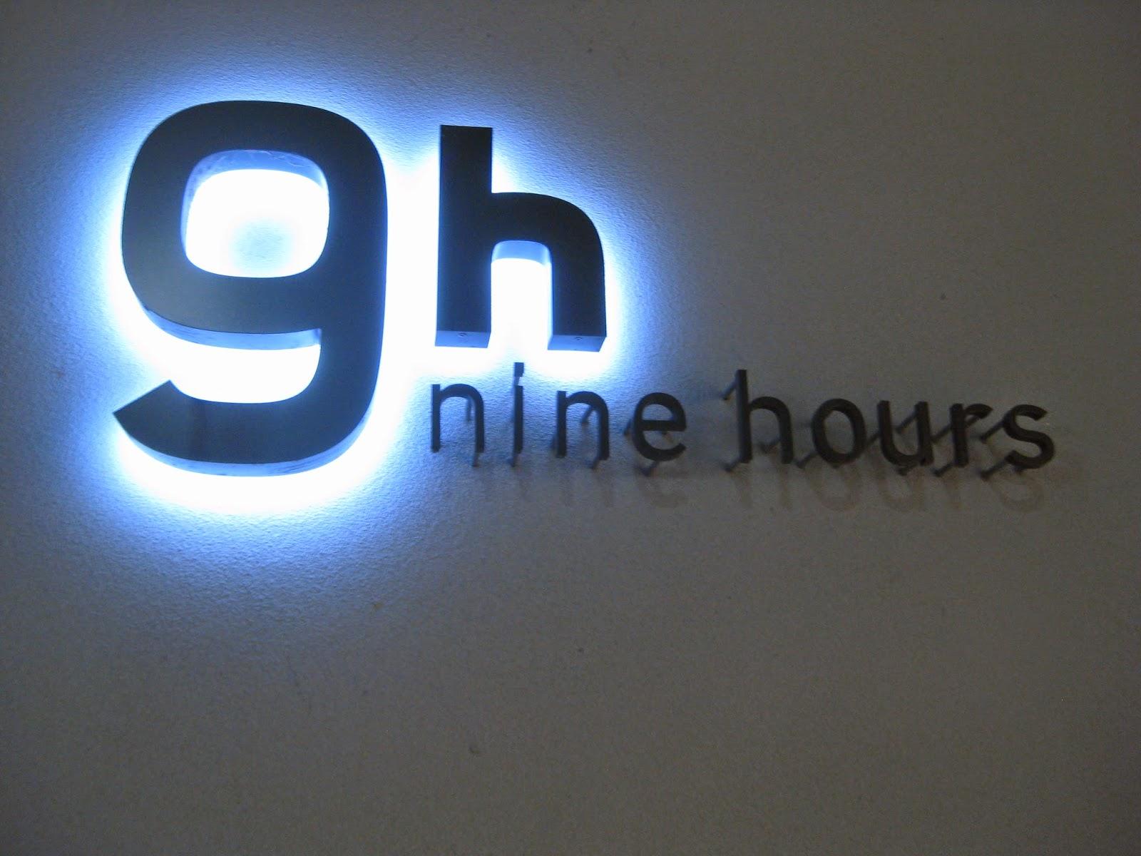 Kyoto - Nine Hours sign