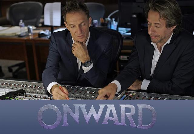 Mychael and Jeff Danna scoring Pixar's Onward