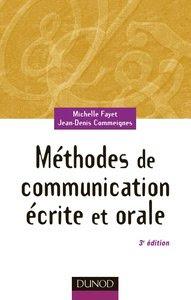Télécharger Livre Gratuit Méthodes de Communication Écrite et Orale pdf