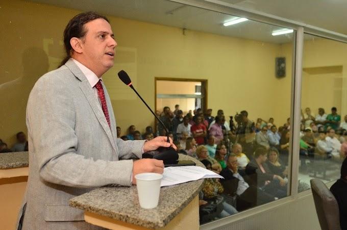 Prefeito de Caxias, Fábio Gentil, faz prestação de contas do primeiro quadrimestre na Câmara Municipal