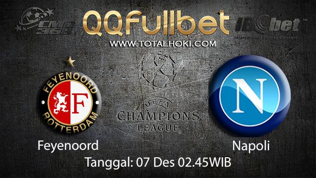 PREDIKSIBOLA - PREDIKSI TARUHAN BOLA FEYENOORD VS NAPOLI 7 DESEMBER 2017 ( UEFA CHAMPIONS LEAGUE )