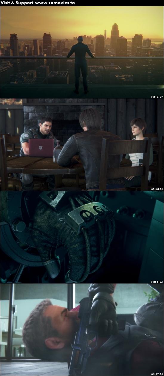 Resident Evil Vendetta 2017 English 720p BRRip 850MB ESubs