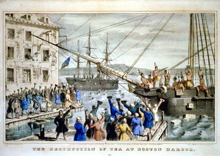 boston tea party, history of coffee