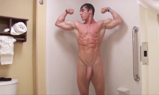 hung bodybuilder