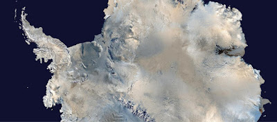 Warming ocean water undercuts Antarctic ice shelves
