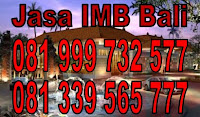 jasa imb Badung Denpasar Gianyar Tabanan Bali