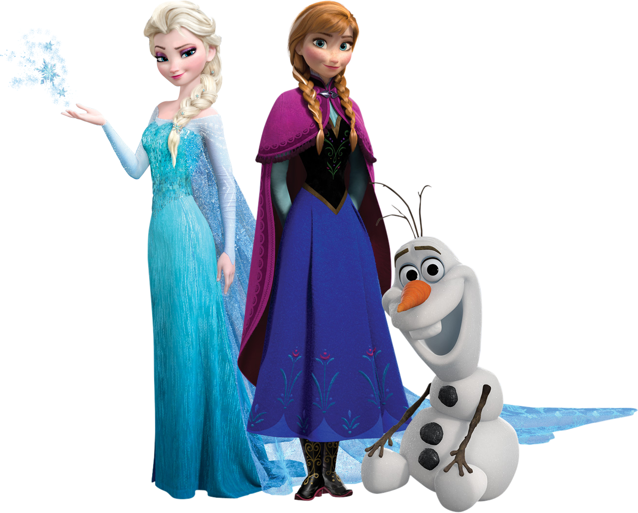 Png frozen elsa anna olaf png world - Olaf and anna ...