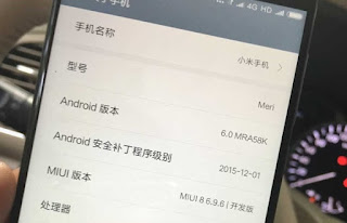 Spesifikasi Lengkap Xiaomi Meri