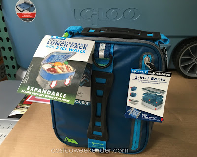 California Innovations Arctic Zone Ultra High Performance Expandable Lunch Pack - Packing safe, healthy lunches has never been easier