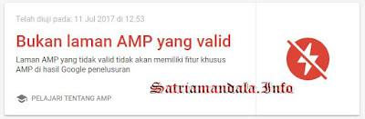 No Valid AMP