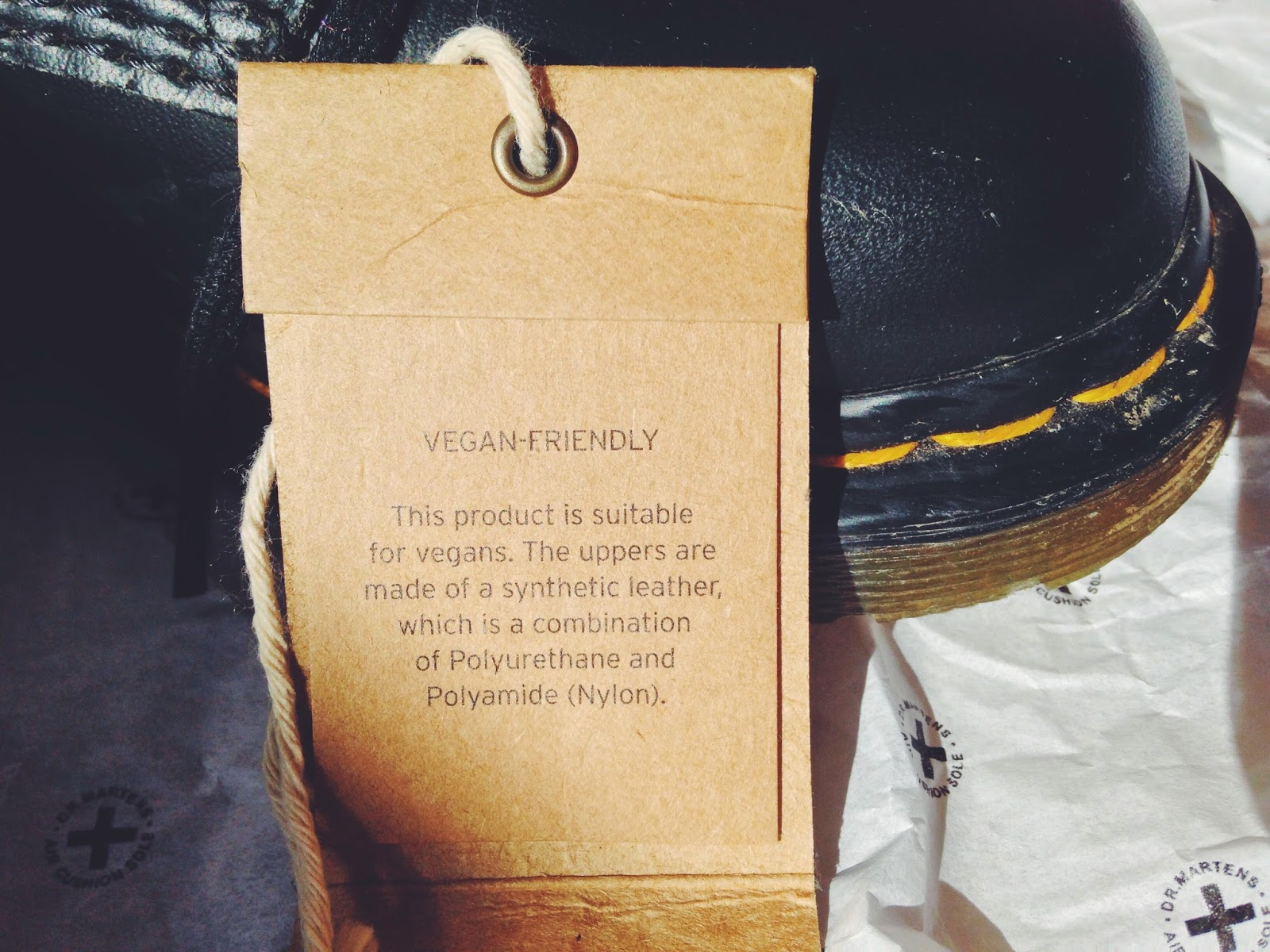 c1f986b4ee It's been just over two months since I bought my Dr Martens Vegan 1460s, so  I thought that it's about time I gave them an honest review.