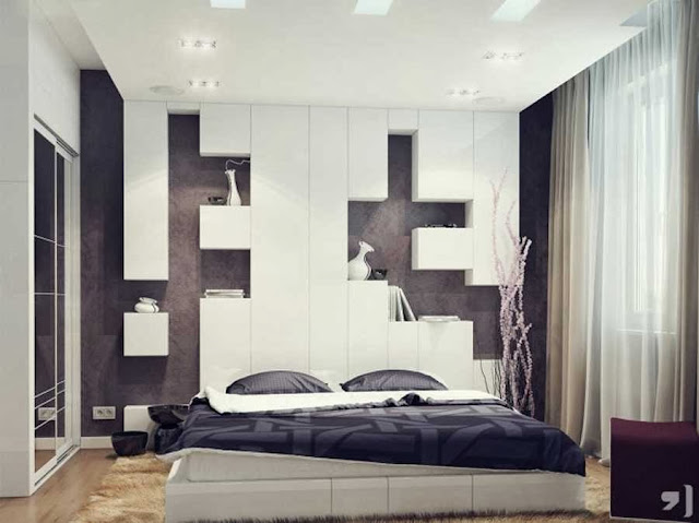 Interior Design in Black & White picture