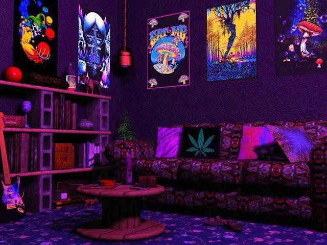 . Trippy Bedroom Decor   Interior Design Meaning